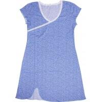 Ночнушка женская Valeri-tex 1766-99-024-027-1 Синий