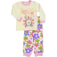 Пижама Valeri-tex 1782-55-090-024-1 Молочный