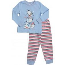 Детская пижама Valeri-tex 1786-55-090-008 Голубой