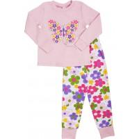 Пижама для девочек Valeri-tex 1786-55-191-006 Розовый