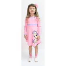 Платье Valeri-tex 1788-55-090-006 Розовый
