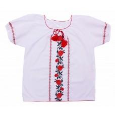 Блузка для девочек Valeri-tex 1793-20-311-002-1 Белый