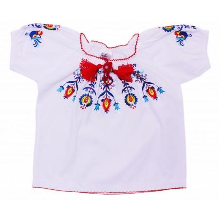 Блузка для девочек Valeri-tex 1793-20-311-002 Белый