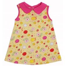 Платье Valeri-tex 1804-99-024-027-1 Желтый