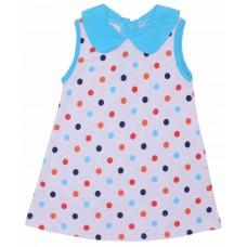 Платье Valeri-tex 1804-99-127-027-1 Белый