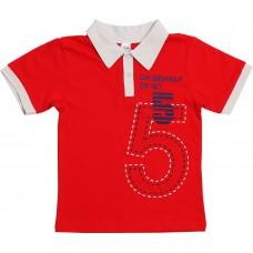Джемпер для мальчиков Valeri-tex 1811-55-232-012 Красный