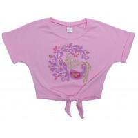 Футболка для девочек Valeri-tex 1813-55-042-2 Розовый