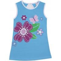Блузка для девочек Valeri-tex 1814-55-042-008 Голубой