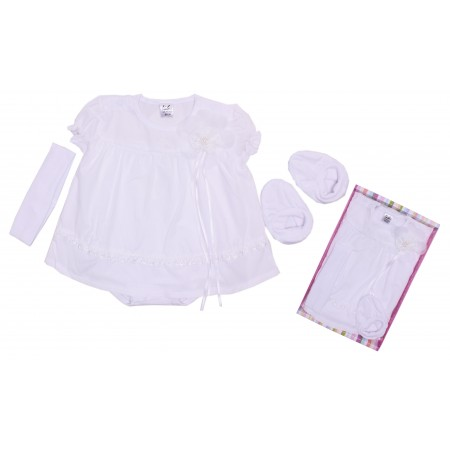 Комплект для девочек Valeri-tex 1823-99-311 Белый