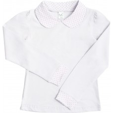 Блузка для девочек Valeri-tex 1825-55-041-002 Белый