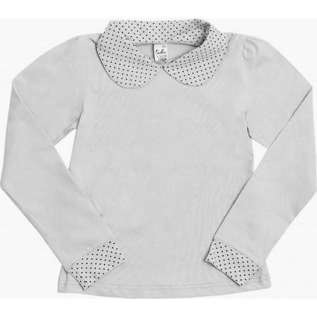 Блузка для девочек Valeri-tex 1825-55-042-003 Серый