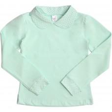 Блузка для девочек Valeri-tex 1825-99-042-038 Ментол