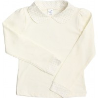 Блузка для девочек Valeri-tex 1825-99-042-024 Молочный