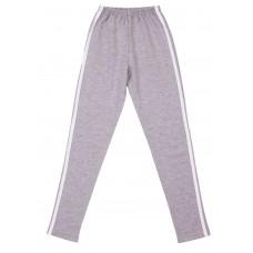 Штаны для девочек Valeri-tex 1832-99-355-030 Серый меланж
