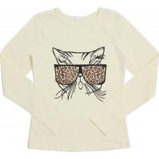 Блузка для девочек Valeri-tex 1833-55-042-024-2 Молочный