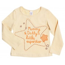 Блузка для девочек Valeri-tex 1833-55-042-025 Песочный