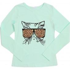 Блузка для девочек Valeri-tex 1833-55-042-038-2 Ментол