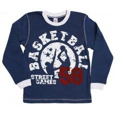 Джемпер для мальчиков Valeri-tex 1835-55-096-007 Синий