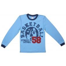 Джемпер для мальчиков Valeri-tex 1835-55-096-008 Голубой