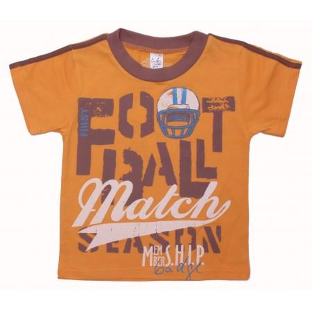 Футболка для мальчиков Valeri-tex 1873-55-232-011 Оранжевый