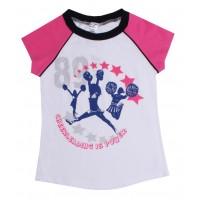 Футболка для девочек 1879-55-042-002-3
