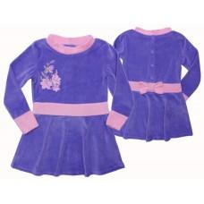 Платье Valeri-tex 1898-20-365-015 Сиреневый