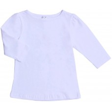 Блузка для девочек Valeri-tex 1907-99-042-002 Белый