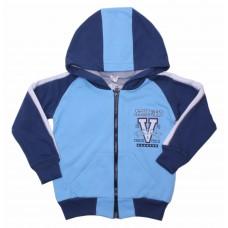 Толстовка для мальчиков Valeri-tex 1933-55-055-008 Голубой