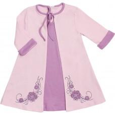Платье Valeri-tex 1939-55-090-015-1 Сиреневый