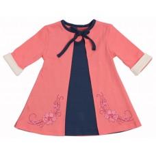 Платье Valeri-tex 1939-99-090-018 Коралловый