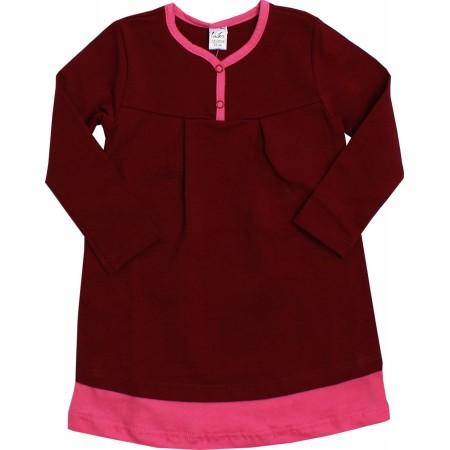 Платье Valeri-tex 1940-99-355-016 Бордовый