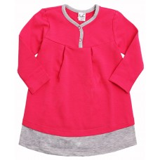 Платье Valeri-tex 1940-99-355-017 Малиновый