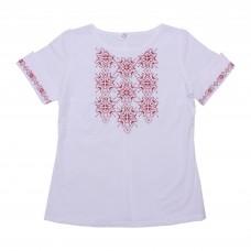 Блузка для девочек Valeri-tex 1986-20-311-002-1 Белый
