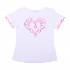 Блузка для девочек Valeri-tex 1986-20-311-002 Белый