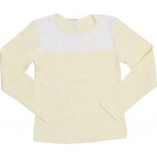 Блузка для девочек Valeri-tex 2002-99-042-024 Молочный
