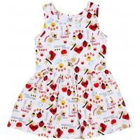 Платье Valeri-tex 2003-99-127-027-02-1 Белый