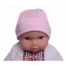 Шапка Valeri-tex 2021-55-126-006 Розовый
