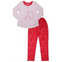 Пижама женская Valeri-tex 2030-55-155-006 Розовый