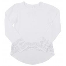 Блузка для девочек Valeri-tex 2033-55-041-002 Белый