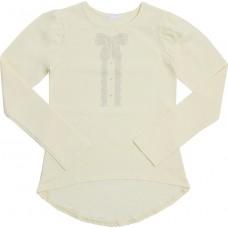 Блузка для девочек Valeri-tex 2033-55-042-024 Молочный