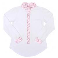 Блузка для девочек Valeri-tex 2034-99-041-002 Белый