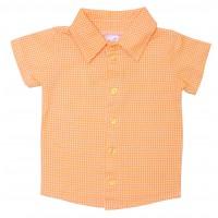 Джемпер для мальчиков Valeri-tex 2073-99-127-027-02 Оранжевый