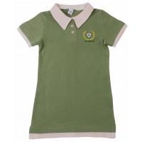 Платье-поло Valeri-tex 2083-20-131-022-1 Оливковый
