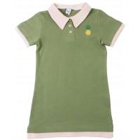 Платье-поло Valeri-tex 2083-20-131-022 Оливковый