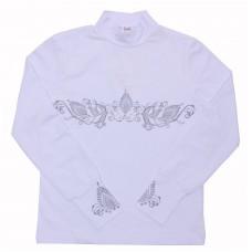 Блузка для девочек Valeri-tex 2090-55-049-002 Белый