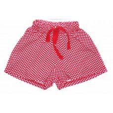 Шорты для девочек Valeri-tex 2129-99-021-027-012 Красный