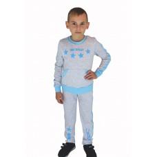 Комплект детский Valeri-tex 2138-55-393-030-2 Серый меланж