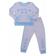 Комплект детский Valeri-tex 2138-55-393-030 Серый меланж