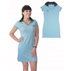 Платье Valeri-tex 2146-55-090-008 Голубой