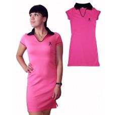 Платье Valeri-tex 2146-55-090-018 Коралловый